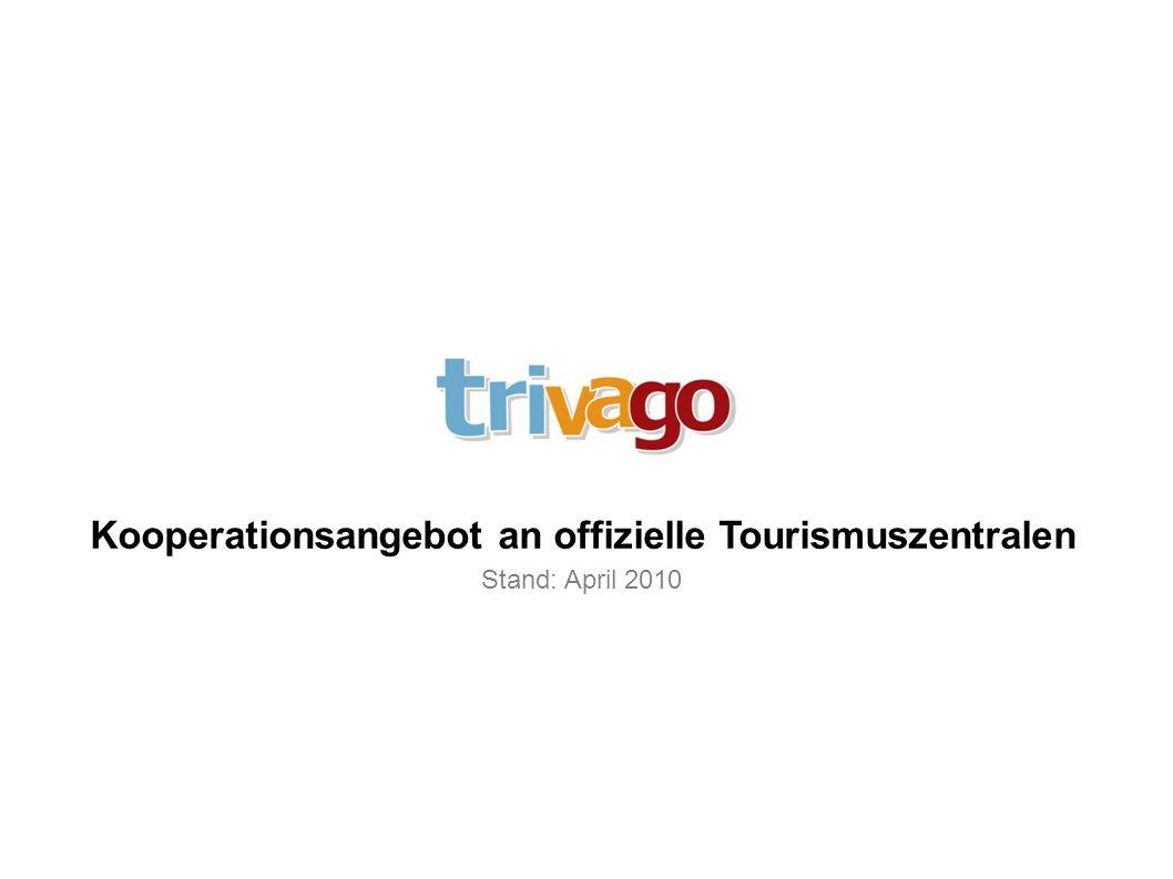 Kooperationsangebot an offizielle Tourismuszentralen
