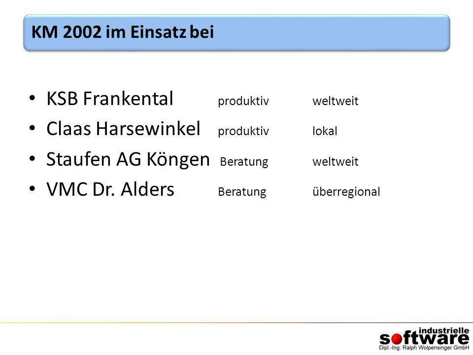 KSB Frankental produktiv weltweit Claas Harsewinkel produktiv lokal