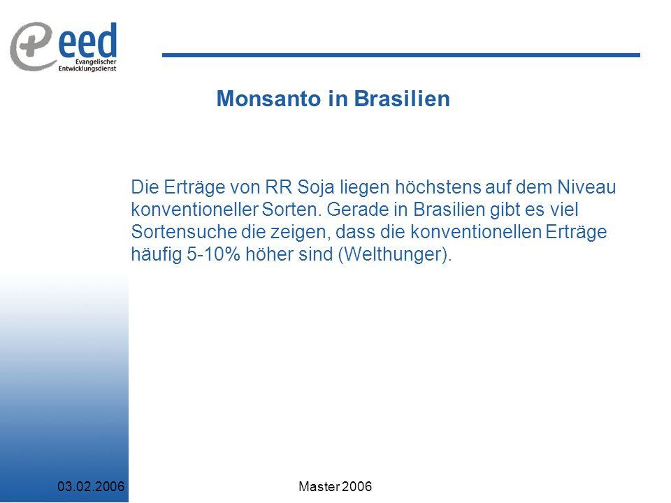 Monsanto in Brasilien
