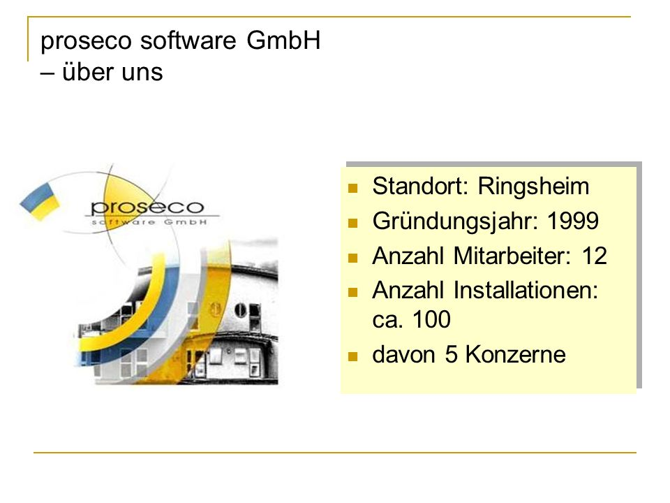 proseco software GmbH – über uns