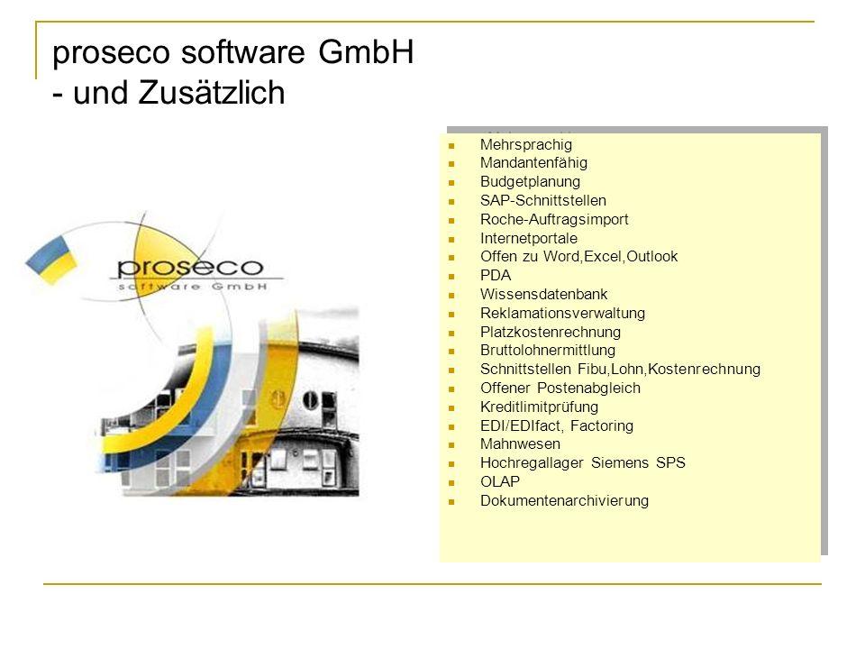 proseco software GmbH - und Zusätzlich