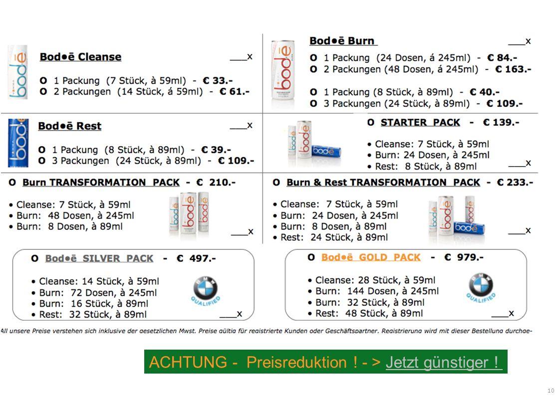 ACHTUNG - Preisreduktion ! - > Jetzt günstiger !