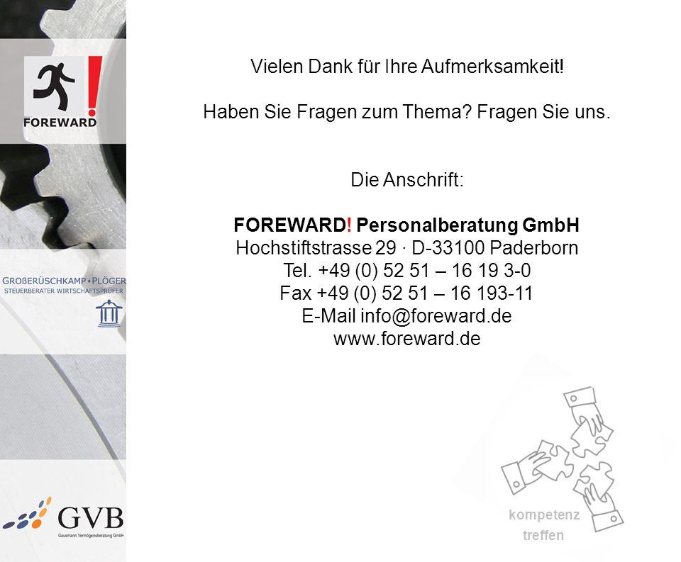 E-Mail info@foreward.de