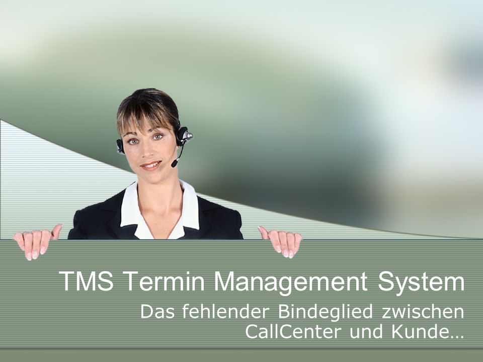 TMS Termin Management System