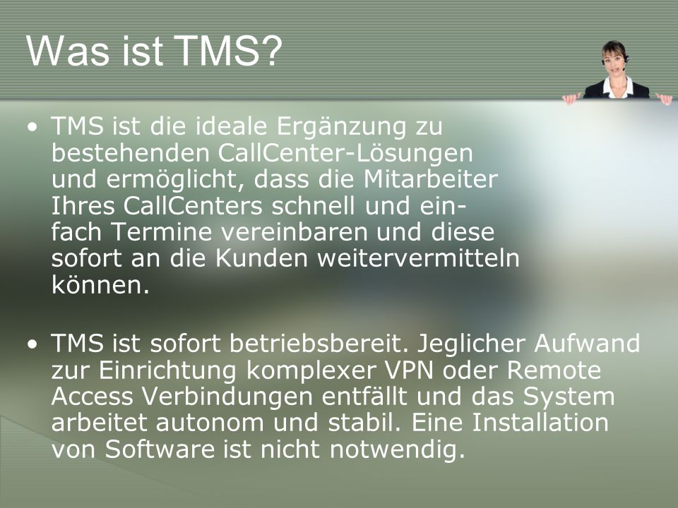 Was ist TMS