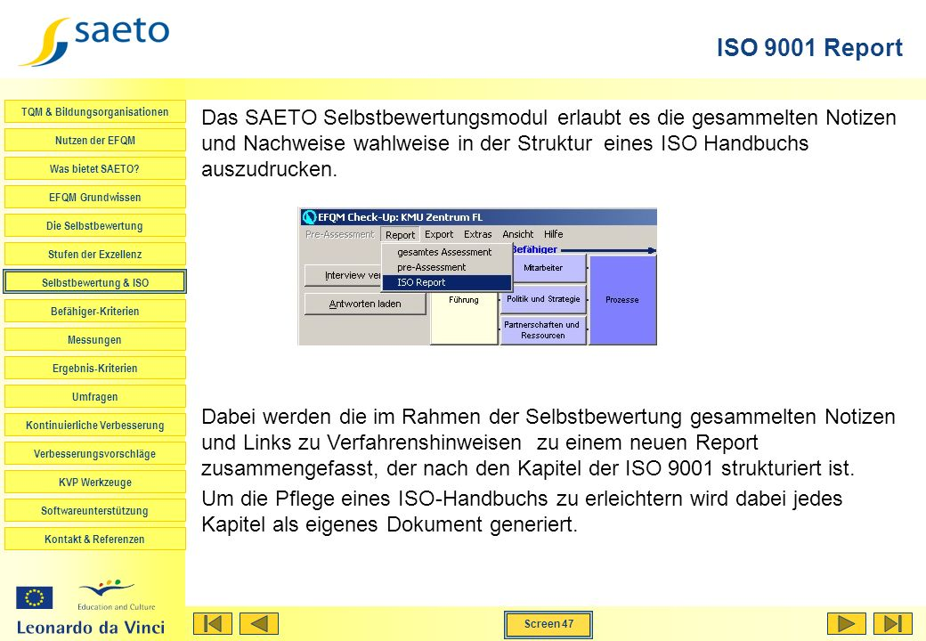 ISO 9001 Report
