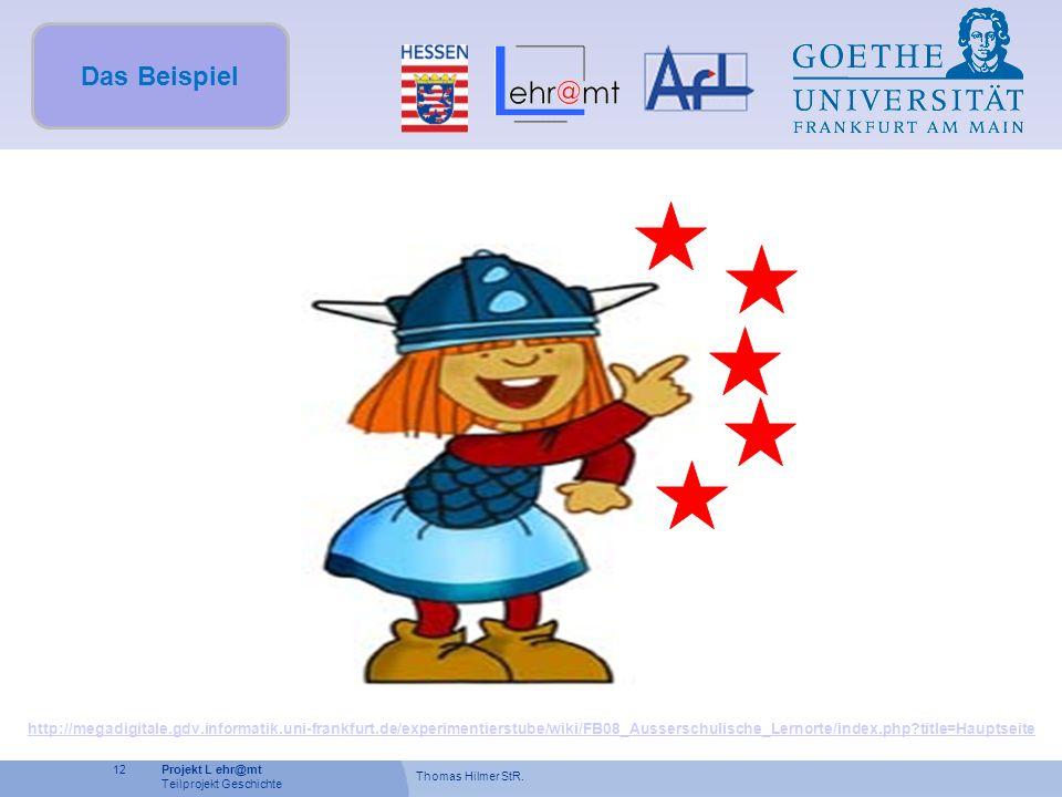 Das Beispiel http://megadigitale.gdv.informatik.uni-frankfurt.de/experimentierstube/wiki/FB08_Ausserschulische_Lernorte/index.php title=Hauptseite.