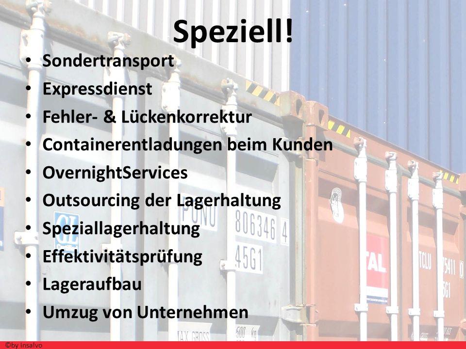 Speziell! Sondertransport Expressdienst Fehler- & Lückenkorrektur