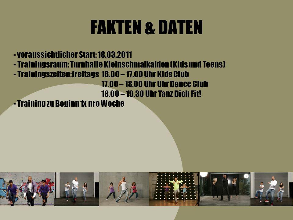 FAKTEN & DATEN voraussichtlicher Start: 18.03.2011