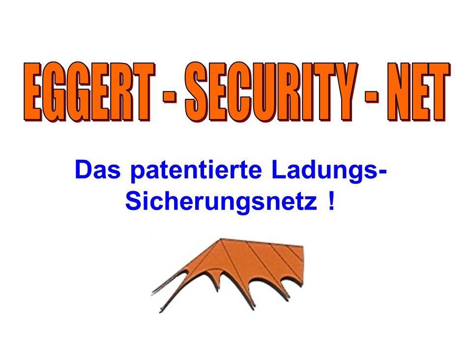 Das patentierte Ladungs-Sicherungsnetz !