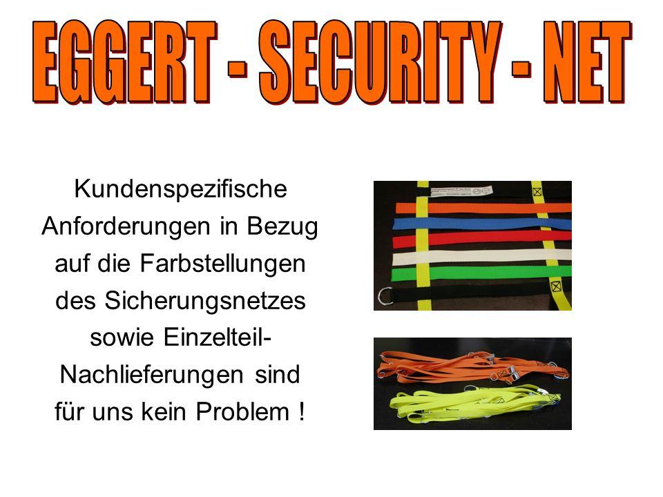 EGGERT - SECURITY - NET Kundenspezifische Anforderungen in Bezug