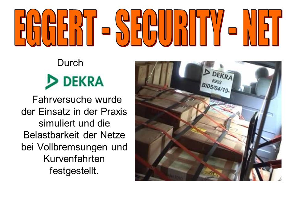 EGGERT - SECURITY - NET Durch