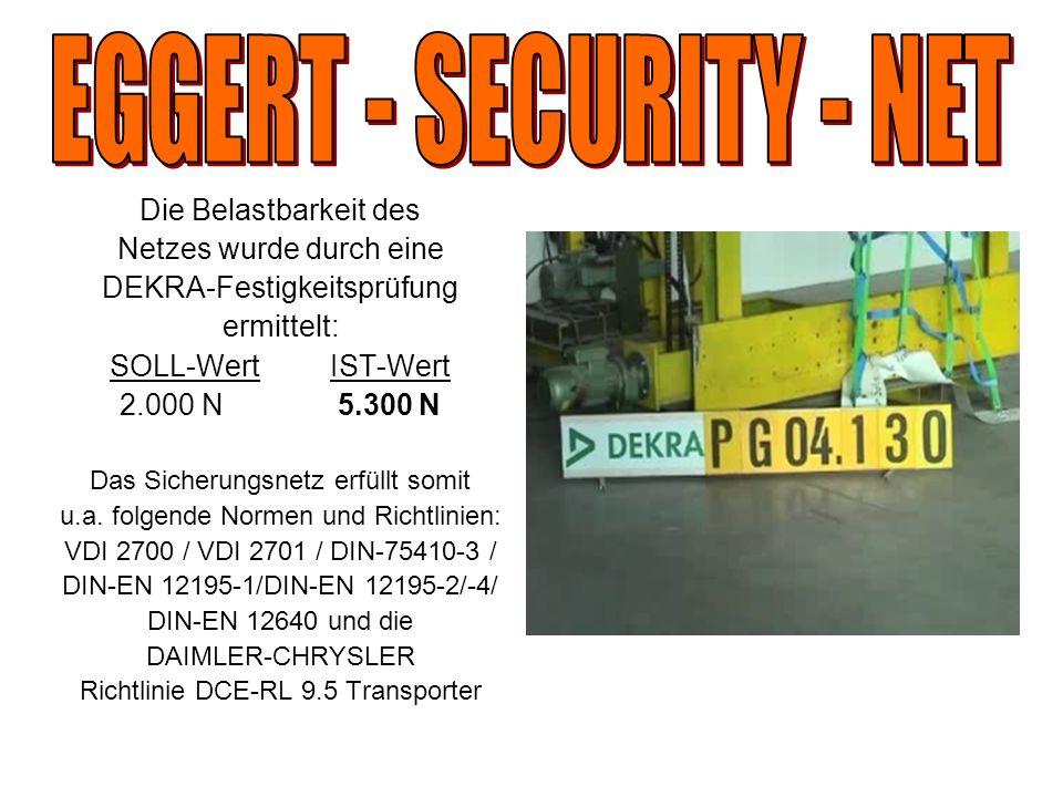 EGGERT - SECURITY - NET Die Belastbarkeit des Netzes wurde durch eine