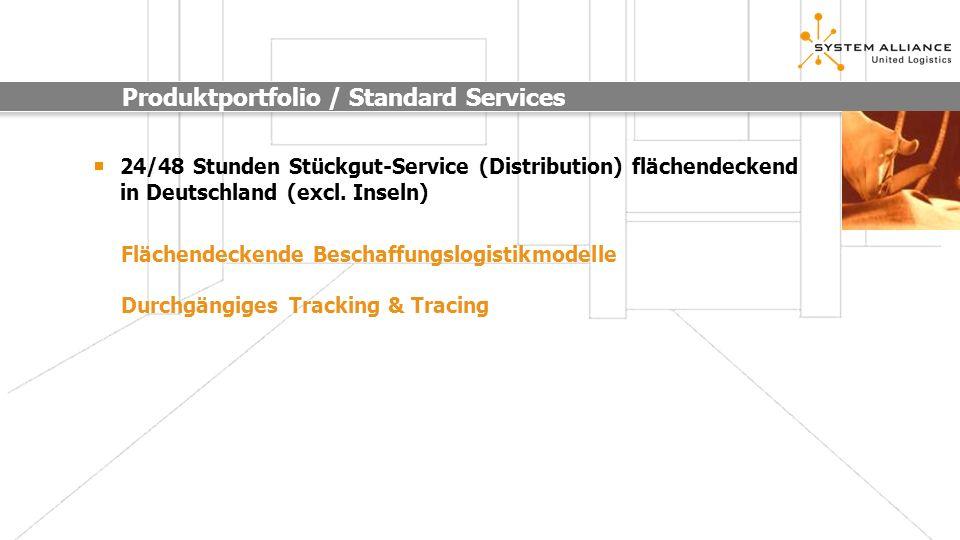 Produktportfolio / Standard Services