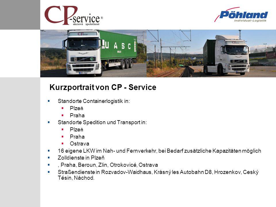 Kurzportrait von CP - Service