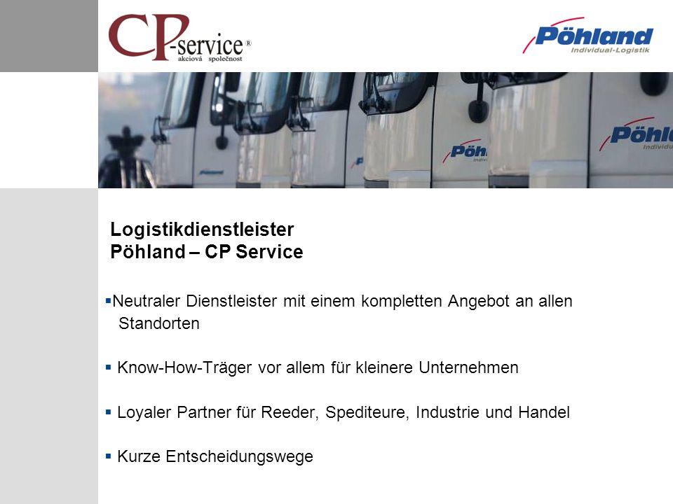 Logistikdienstleister Pöhland – CP Service