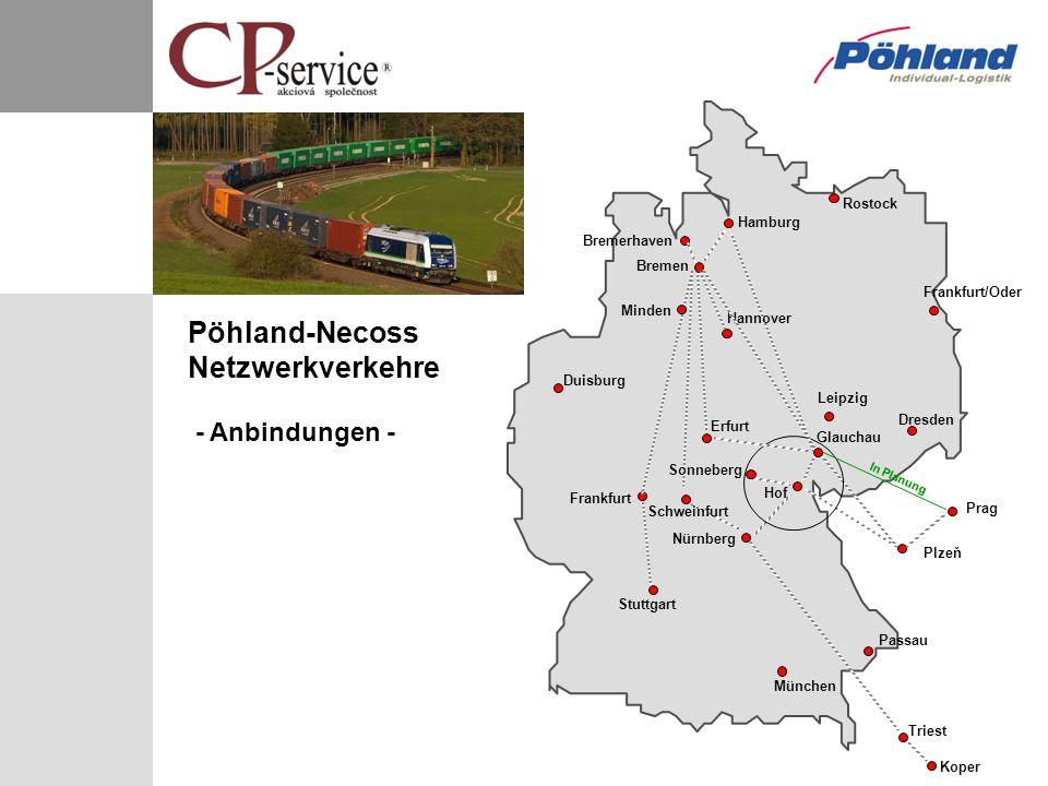 Pöhland-Necoss Netzwerkverkehre - Anbindungen -
