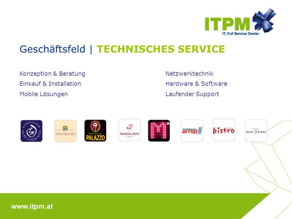 Geschäftsfeld | TECHNISCHES SERVICE