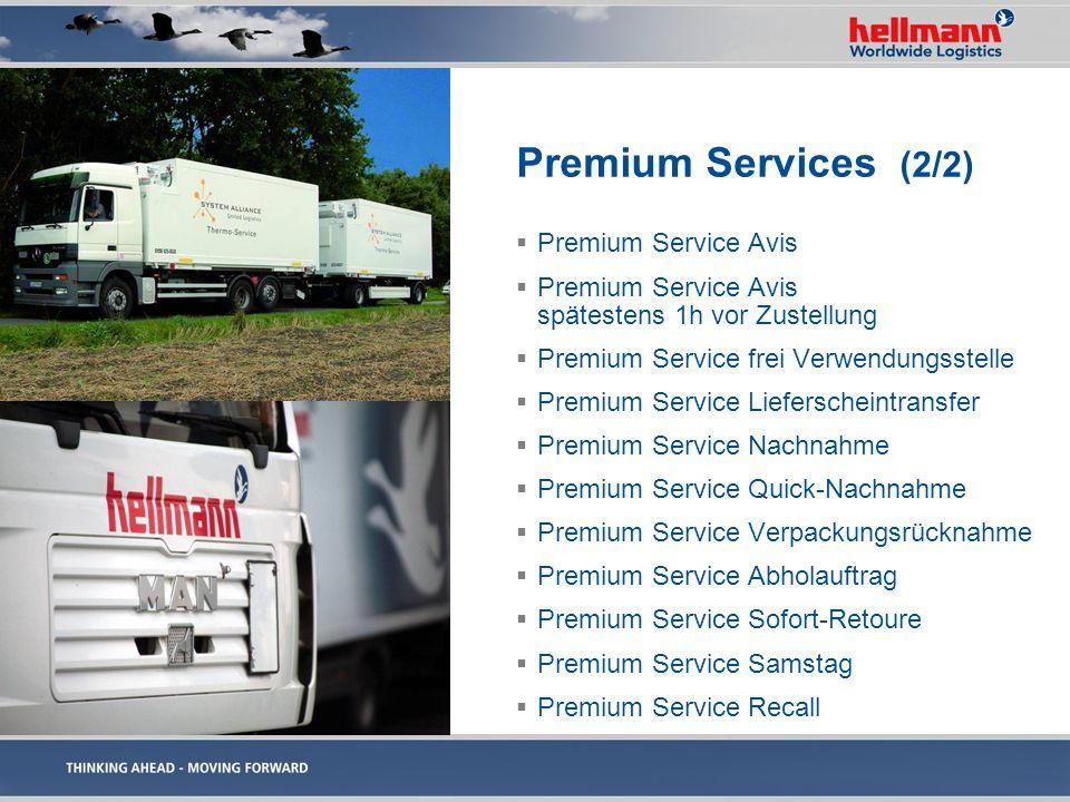 Premium Services (2/2) Premium Service Avis