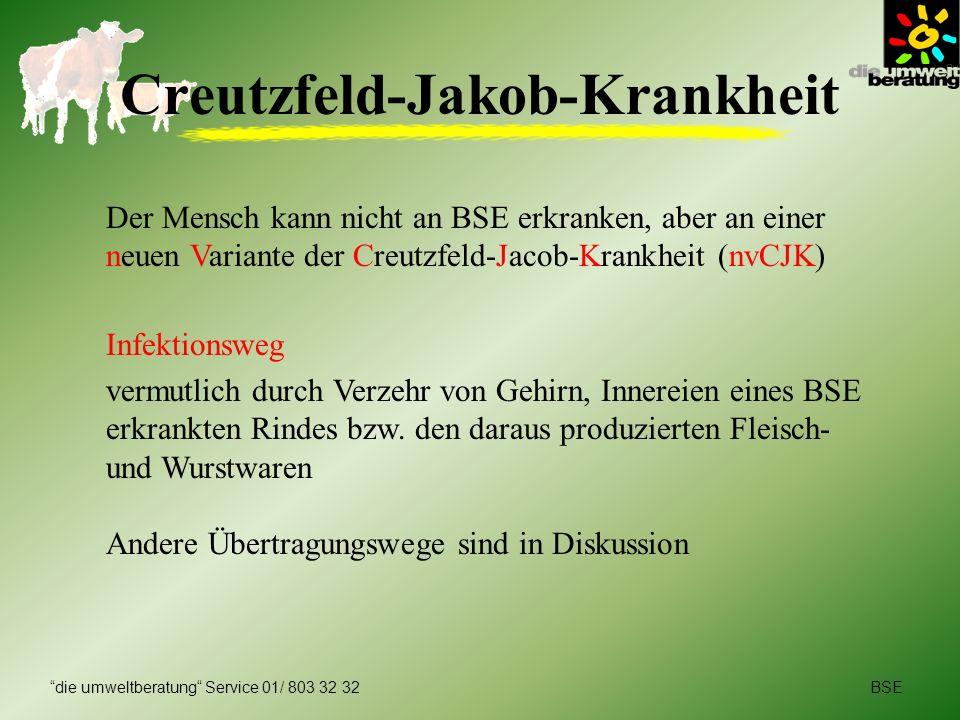 Creutzfeld-Jakob-Krankheit