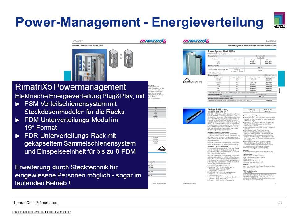 Power-Management - Energieverteilung