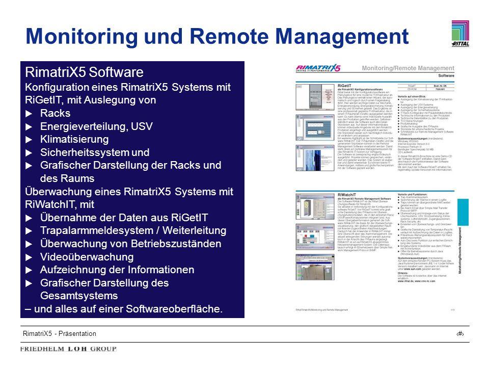 Monitoring und Remote Management