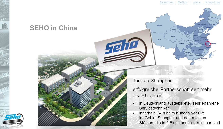 SEHO in China Toratec Shanghai