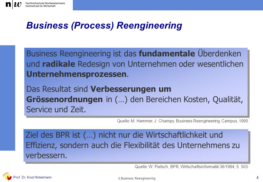Business (Process) Reengineering