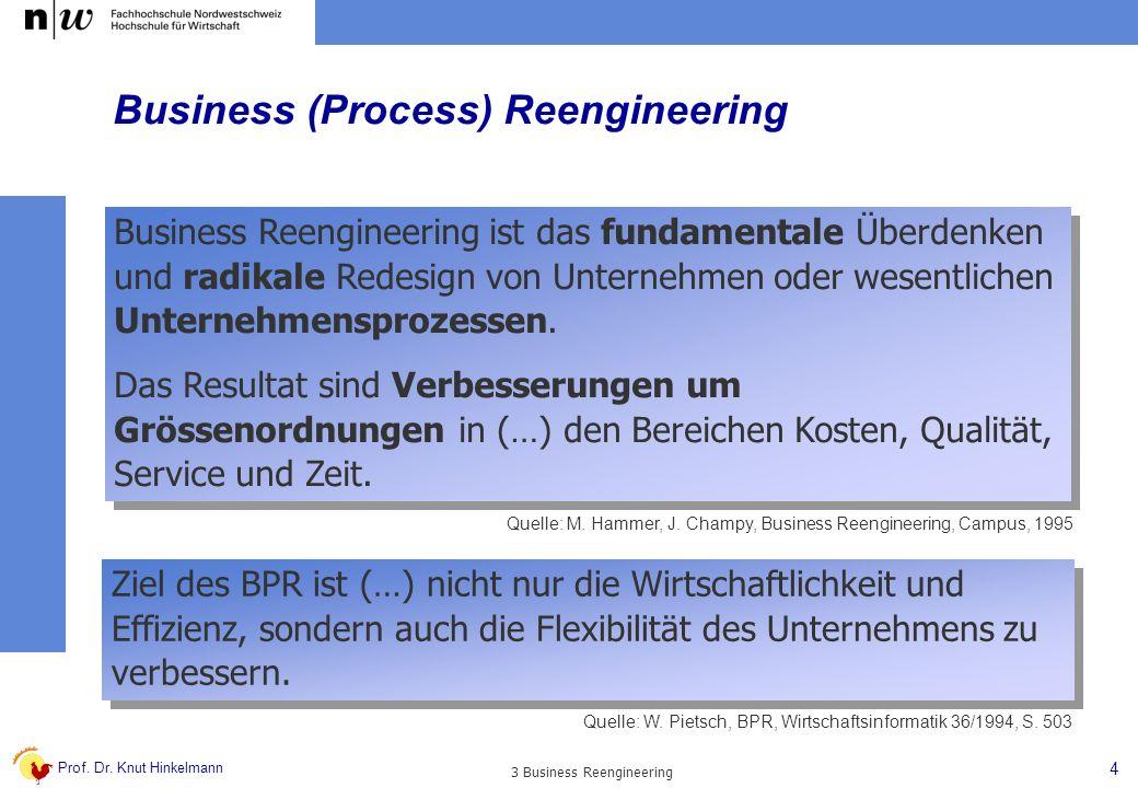 Business (Process) Reengineering