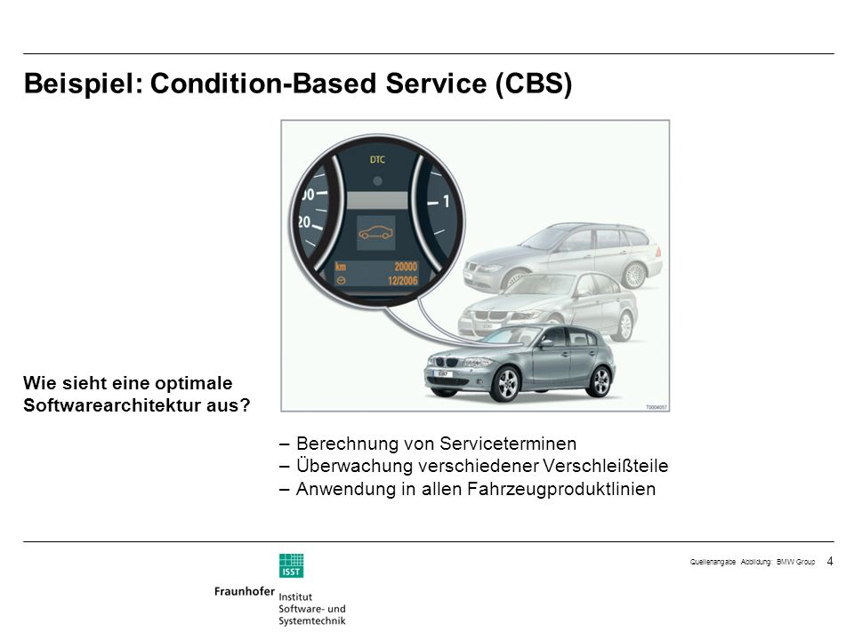 Beispiel: Condition-Based Service (CBS)