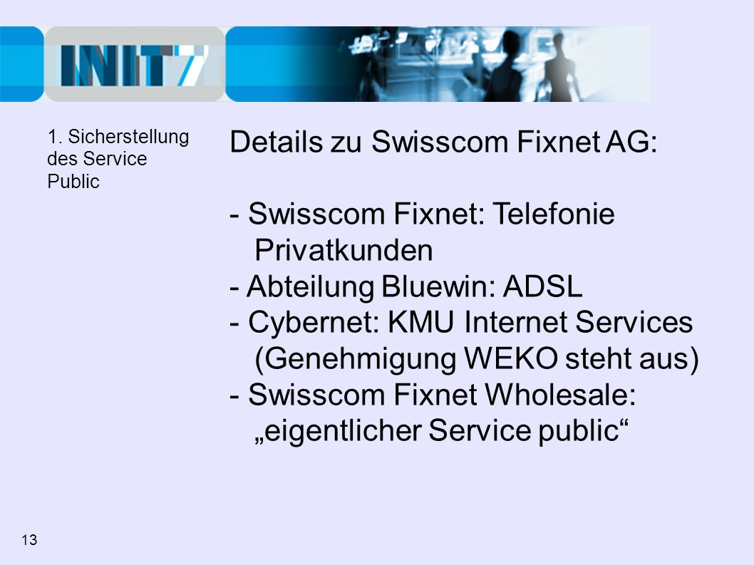 - Cybernet: KMU Internet Services