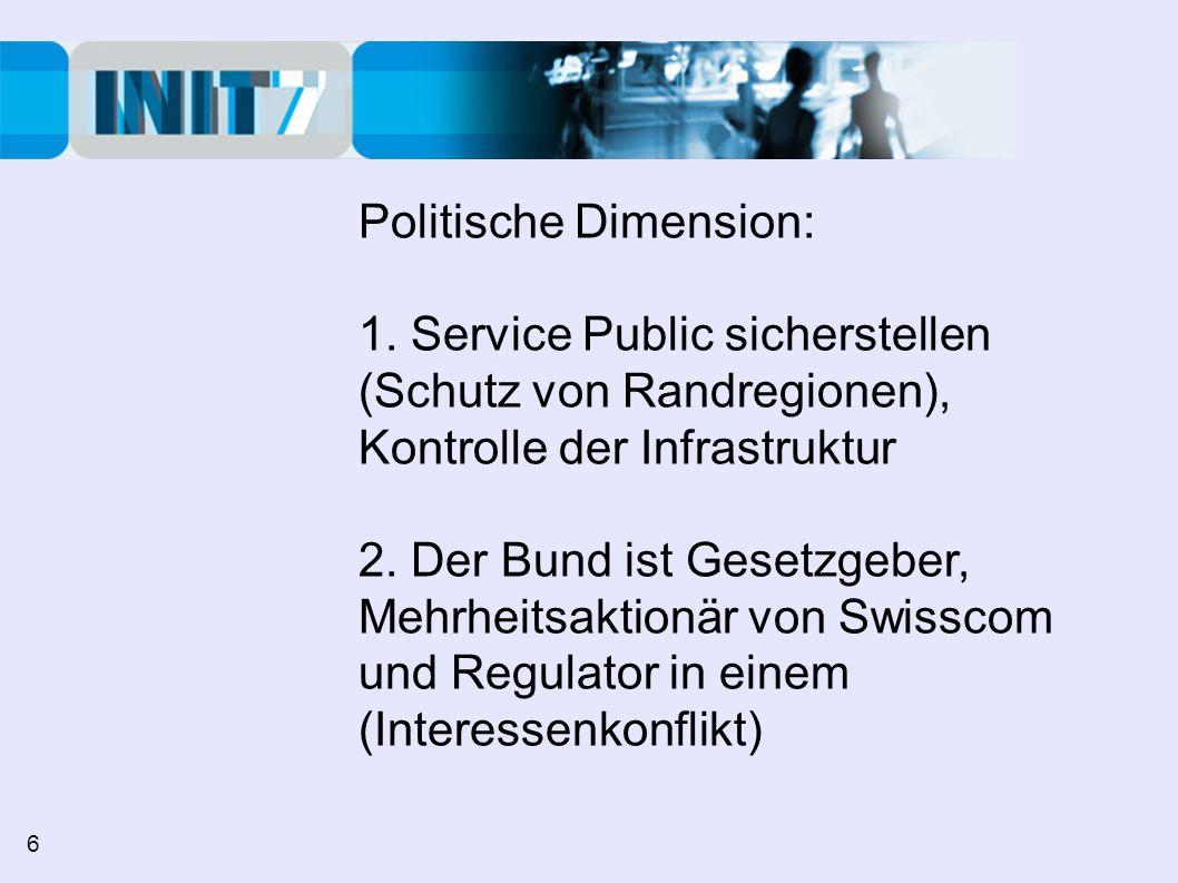 Politische Dimension: