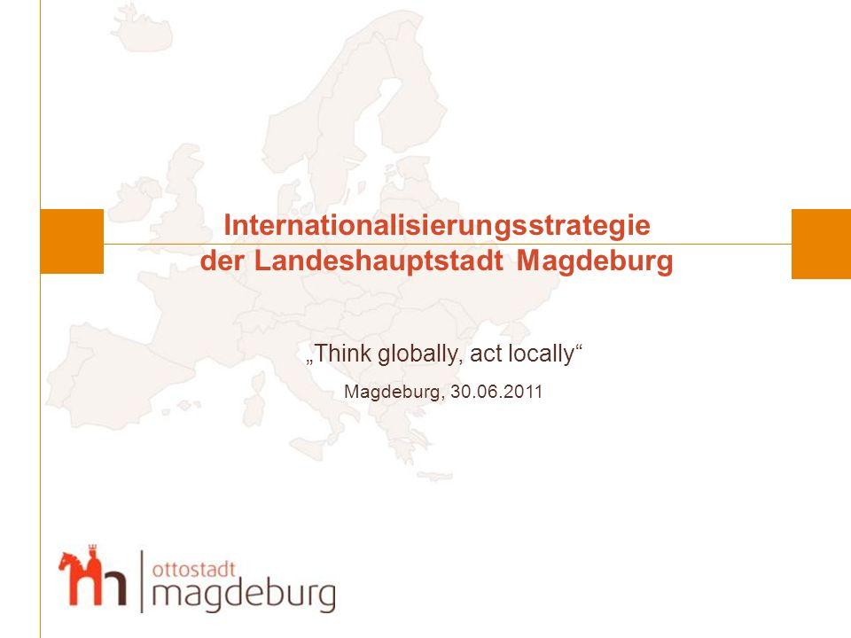 Internationalisierungsstrategie der Landeshauptstadt Magdeburg