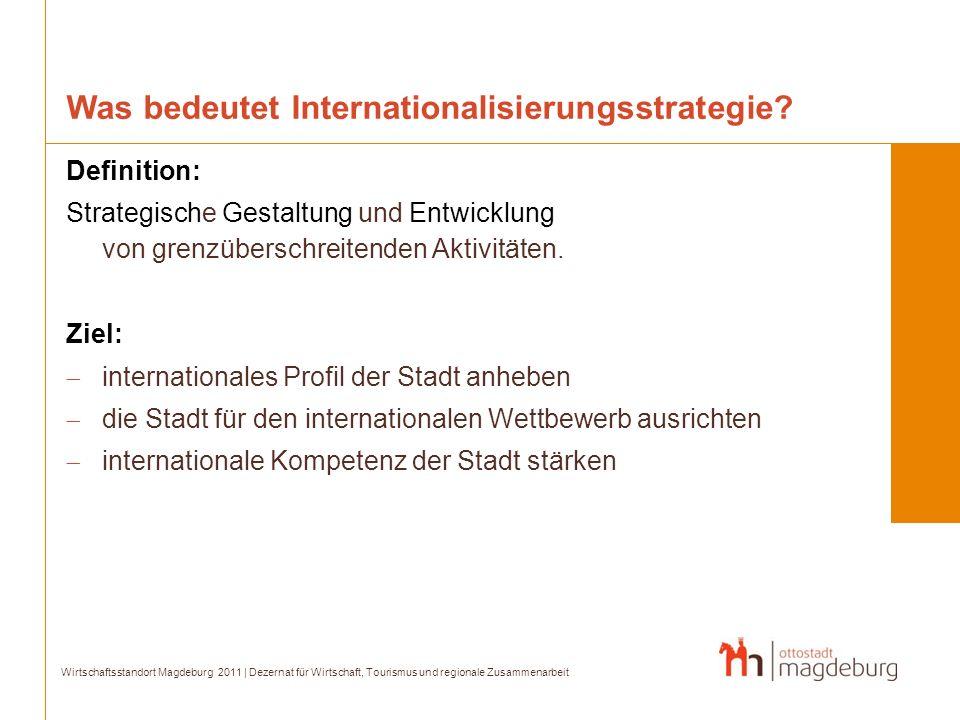 Was bedeutet Internationalisierungsstrategie