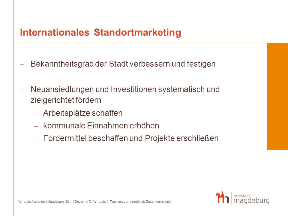 Internationales Standortmarketing
