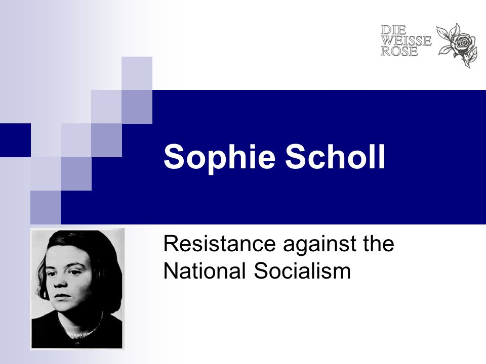 Resistance against the National Socialism