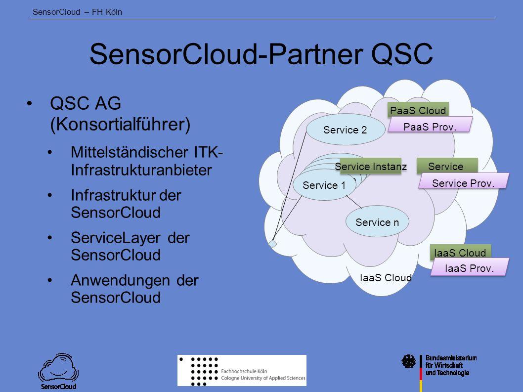 SensorCloud-Partner QSC