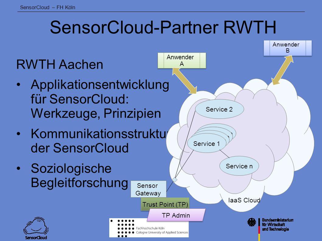 SensorCloud-Partner RWTH