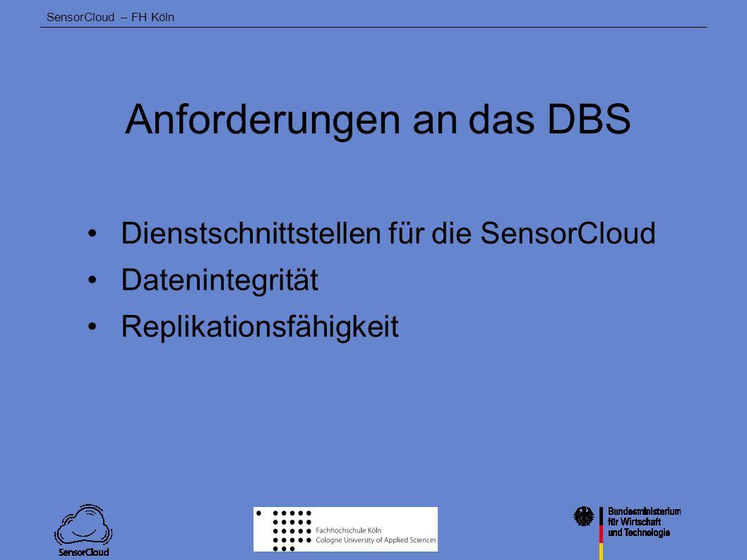 Anforderungen an das DBS