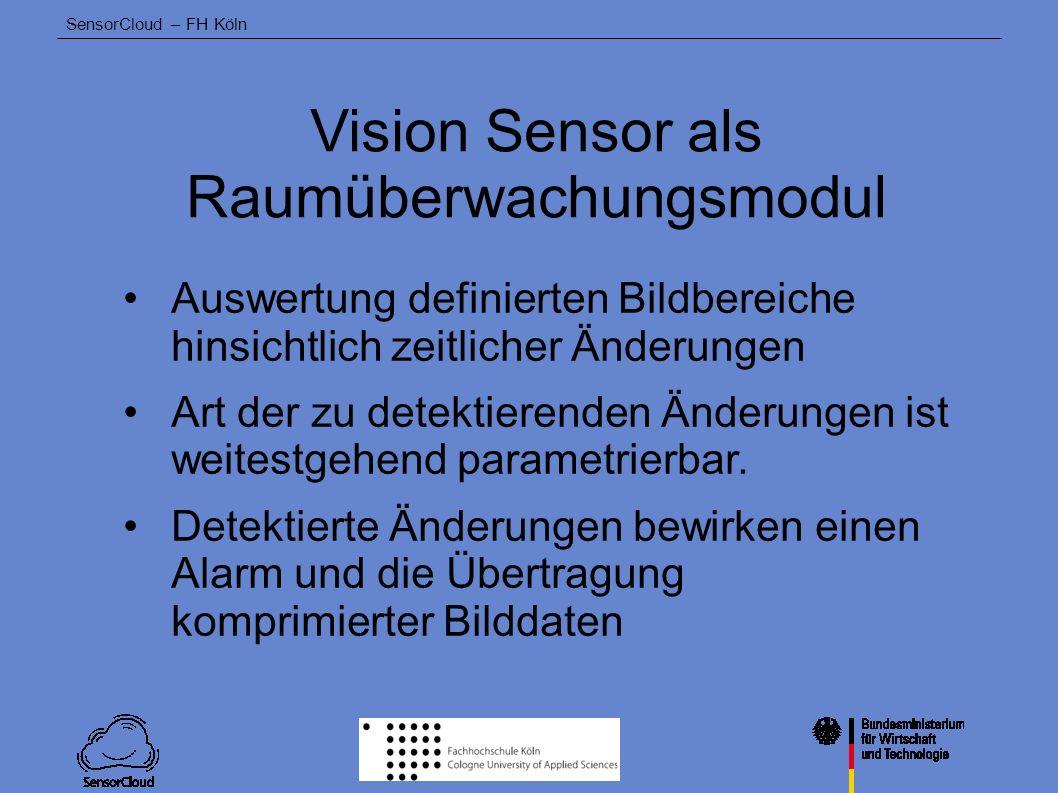 Vision Sensor als Raumüberwachungsmodul