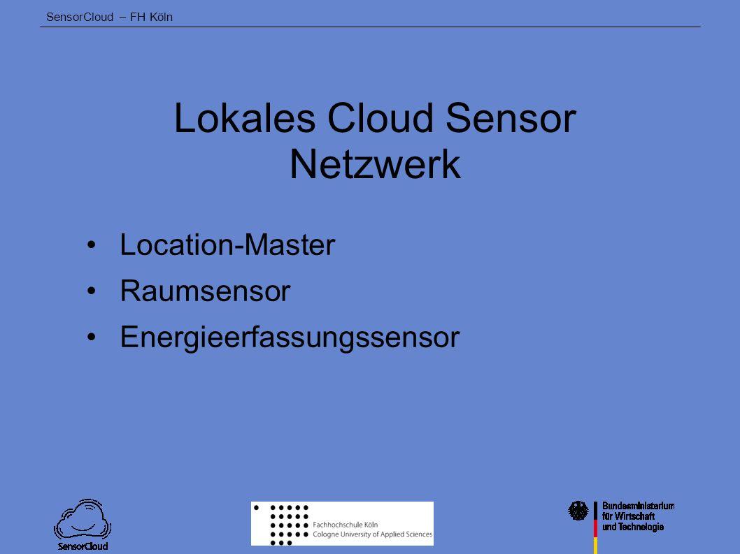 Lokales Cloud Sensor Netzwerk