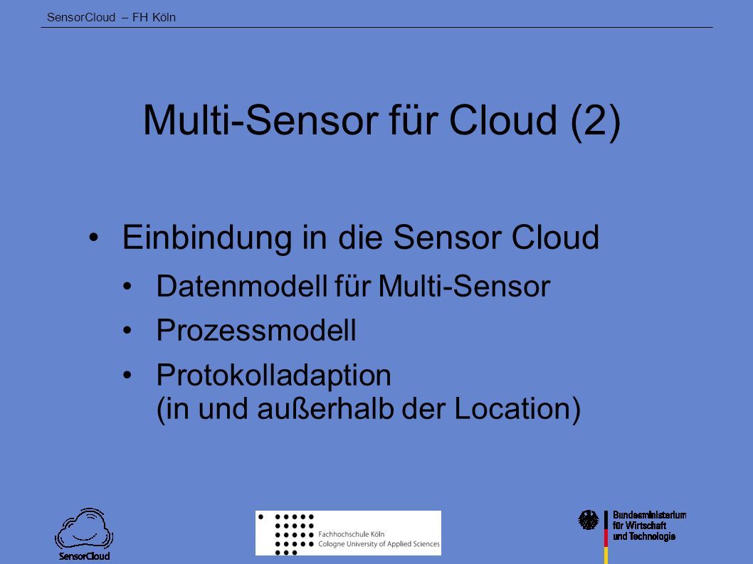 Multi-Sensor für Cloud (2)