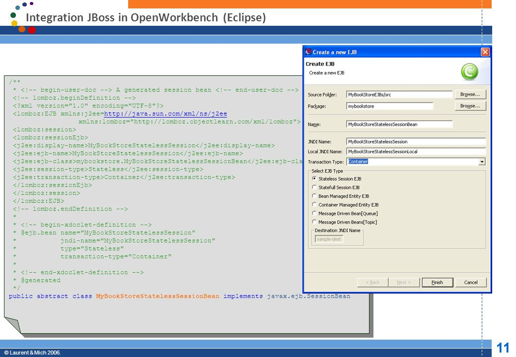 Integration JBoss in OpenWorkbench (Eclipse)