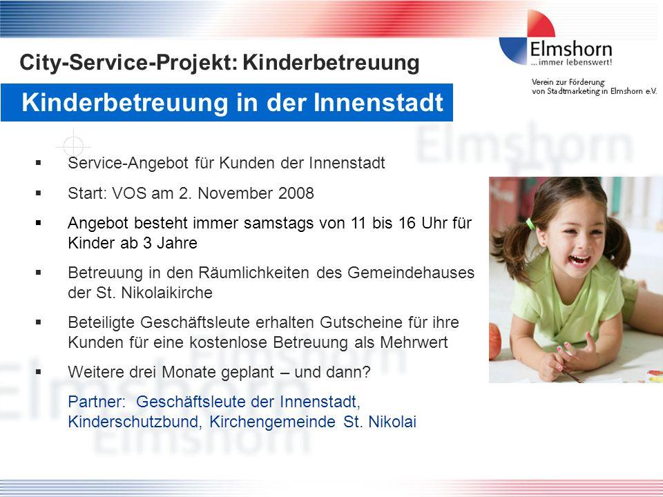 Kinderbetreuung in der Innenstadt