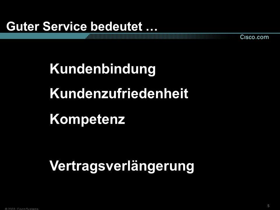 Guter Service bedeutet …
