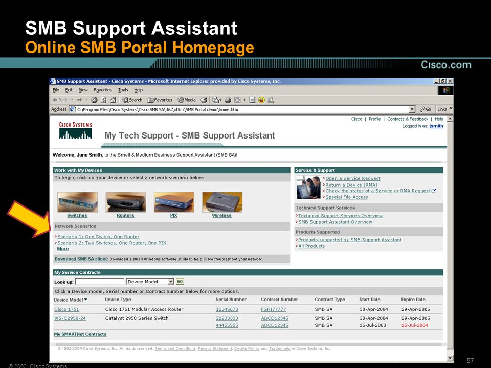 SMB Support Assistant Online SMB Portal Homepage