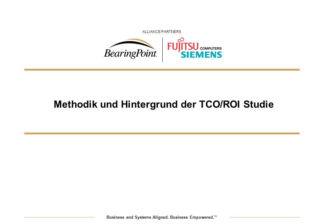 Methodik und Hintergrund der TCO/ROI Studie