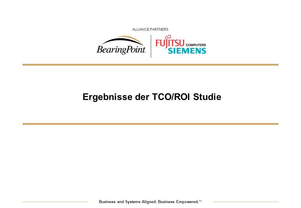 Ergebnisse der TCO/ROI Studie