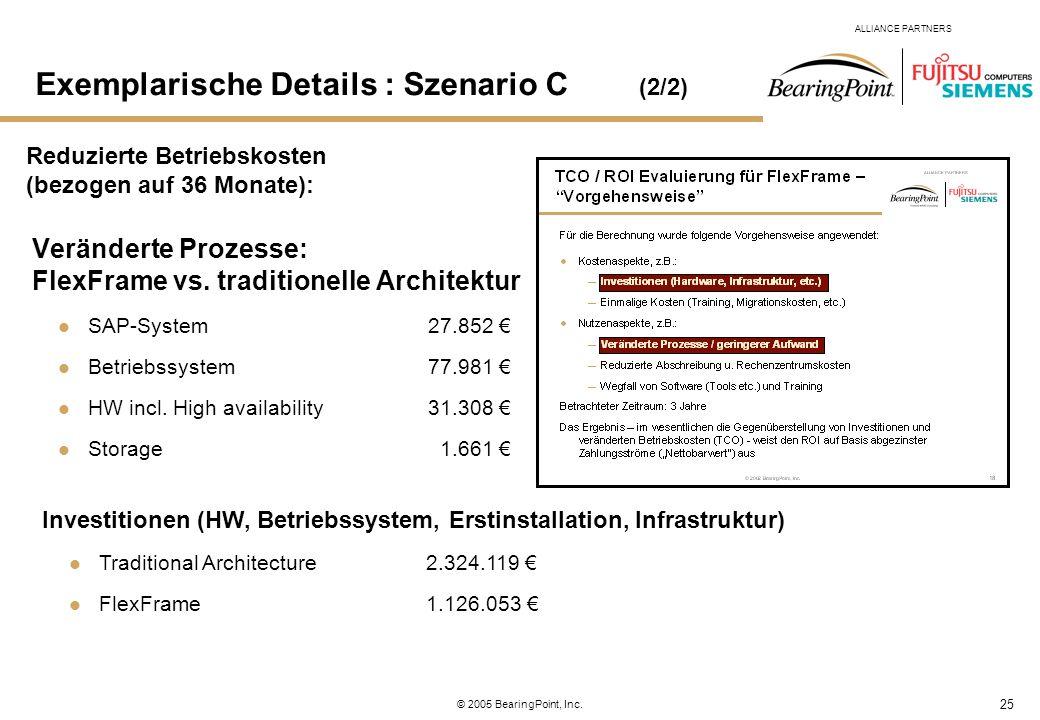 Exemplarische Details : Szenario C (2/2)