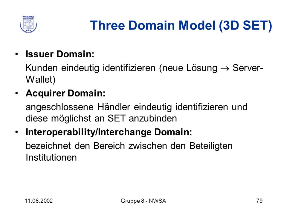 Three Domain Model (3D SET)